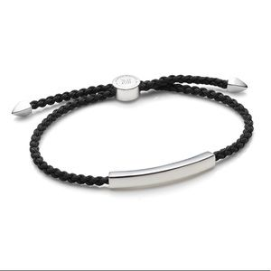 Monica Vinader Men's Linear Friendship Bracelet